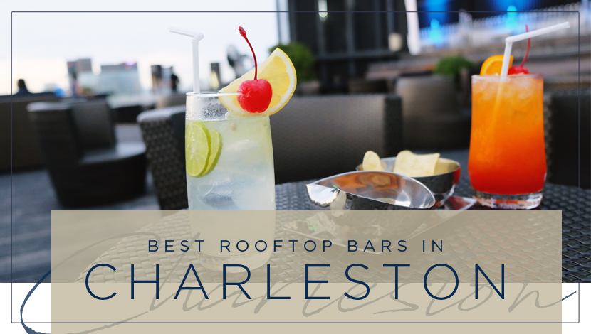 Rooftop Bars Charleston Real Estate Header