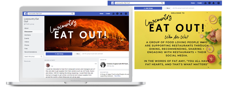 facebook lowcountry group pandemic